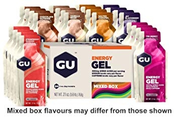Energy Gel Gu 32g Mixed (Box : 24 pcs)