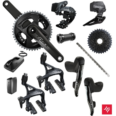 Sram Force ETAP AXS 2x12 (Rim Brake) Groupset for Road Bike