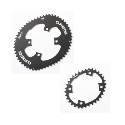 Osymetric Road Chainring set 4-Arm - 54/44 - 110mm