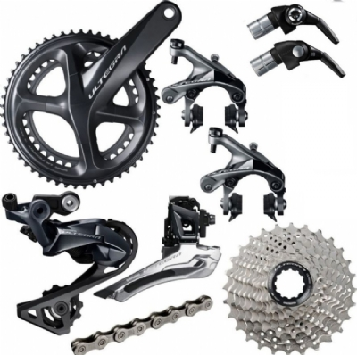 Shimano Ultegra R8000 Groupset for TT/Triathlon Bike