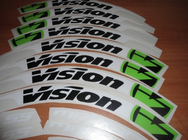Vision Metron Sticker