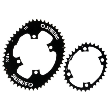 Osymetric Road Chainring set 4-Arm - 50/34 - 110mm