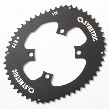 Osymetric Road Chainring set 4-Arm - 54/42 - 110mm
