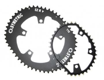 Osymetric Road Chainring set 5-Arm - 52/42 - 130mm